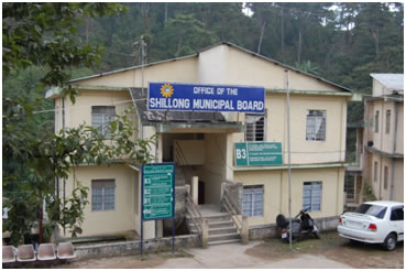 Entrance to Shillong Municipal Board